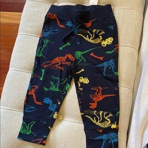 Baby Gap Dino sweatpants NWT